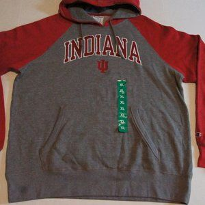 NWT Indiana Hoosiers Champion Hoodie XL Sewn